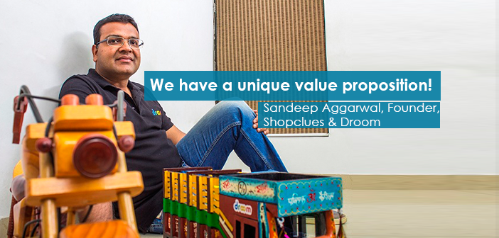 Conversation with Sandeep Aggarwal, Founder & CPO, Droom