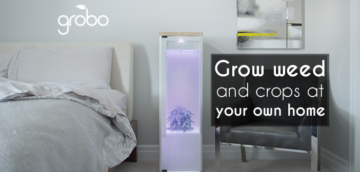Grobo lets you Grow your own Weed as well as Crops Indoors
