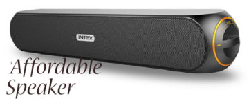 Pocket-friendly Rates for Speakers by Intex Technologies