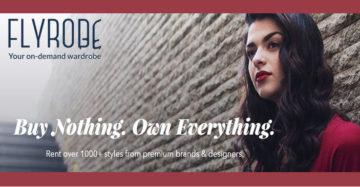 Fashion Rental Startup Flyrobe Raises $5.3 Mn