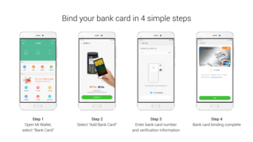 Make payments via Smartphone with Xiaomi's Mobile Payment Service