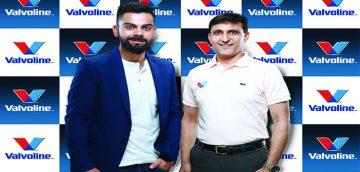 Unstoppable Virat signs up as Brand Ambassador for Valvoline™ Cummins