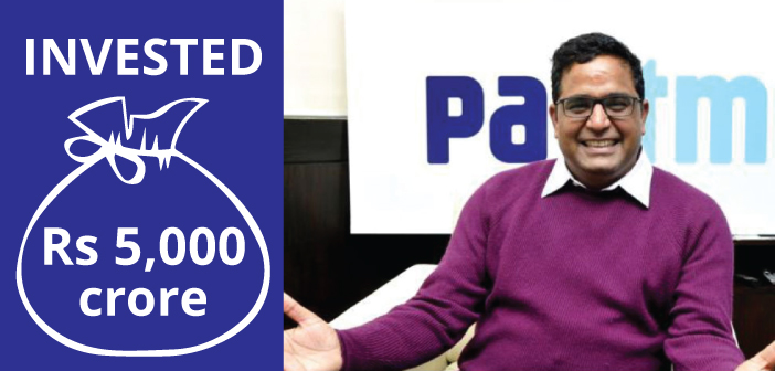 Another Rs 5,000 Crore Investment Plan By Paytm