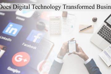 Digital Technology Transformation Business